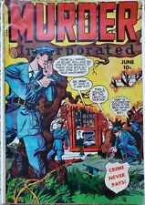 MURDER INCORPORATED #11 VG 4.0 FOX 6/1949