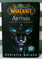 World of Warcraft: Arthas: Rise of the Lich King! HC / DJ Christie Golden Book!