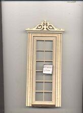 Porta - Esterno LD031A Casa Delle Bambole 1/12 Scala Miniatura Ua Ga Grezzo Wood