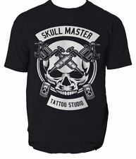 T Shirt Tatoo Master Tribal Skull Painting Decorating Ink 8 colours S-3XL