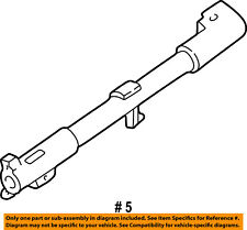 FORD OEM Steering Column-Shift Tube 1F1Z7212AA