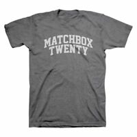 Matchbox Twenty 20 College Text American Rock Band Mens T Tee Shirt 333-09-0009