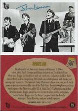 2013 Topps 75th Anniversary #29 Beatles > John Lennon > Paul McCartney > 1964