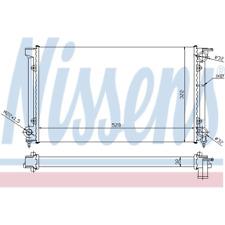 Kühler Motorkühlung - Nissens 651511
