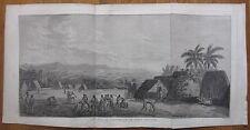 Cook: Large View Hawaii Kauai Atooi - 1774
