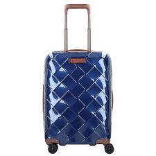 Stratic Leather And More 4-rollen Trolley s 55 Cm Blue