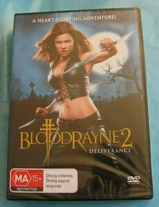 BLOODRAYNE 2 Deliverance DVD Natassia Malthe NEW SEALED Region 4