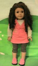 American Girl / Just Like You / Truly Me Doll w Curls, Outfit & Pierced Ears