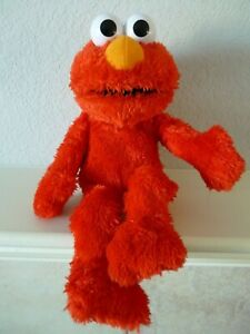 Hasbro 2012 Laugh Out Loud LOL Talking Elmo Sesame Street Plush Works