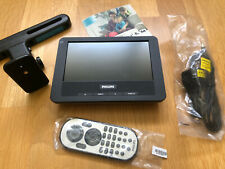 """Philips Portable LCD Screen - PAC130/05 - 7"""" Screen With Remote, Power Lead, Etc"""