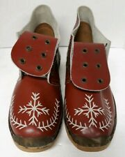 Traditional BRITISH CLOGS Mens 8 Womens 10 Dance Celebration Gardening