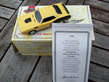 MATCHBOX 1971 PLYMOUTH CUDA 440 6-PACK, DIECAST MIB WITH CERT. OF AUTHENTICITY