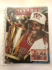 Michael Jordan Beckett Basketball Monthly Magazine #38 September 1993 3-Peat