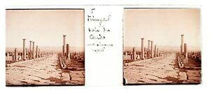Timgad Ruinen Roman Algerien Foto n6 Platte De Verre Stereo