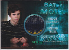 "2016 BATES MOTEL SEASON 2 COSTUME CARD: FREDDIE HIGHMORE #CFH2 ""NORMAN BATES"""