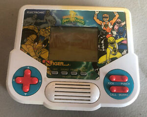 1994 VINTAGE HANDHELD POWER RANGERS MIGHTY MORPHIN ELECTRONIC TIGER GAME