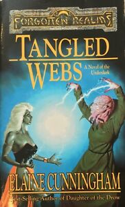 Tangled Webs Forgotten Realms 1998 Elaine Cunningham Very Rare First Paperback