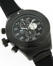 ***NEW IN BOX*** Vestal ZR4 ZR-4 Chrono Diver Black Silicone Wrist Watch ZR4001
