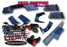 "Crown Suspension 1997-2003 F150 2wd 5"" Rear Lowering Flip Kit C-Notch"