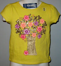 New OLD NAVY Size 12-18 Months Yellow Tops ~ Shirt