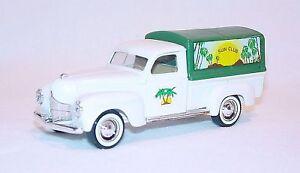 """Solido 1:43 DODGE 1950 """"SUN CLUB"""" DELIVERY Truck NM`86!"""
