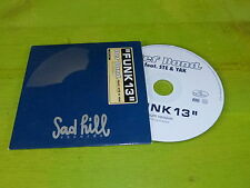 DEF BOND - FUNK 13 - SAD HILL!!!!!RAP OLD SCHOOL !!!!!!RARE CD PROMO!!!!!!