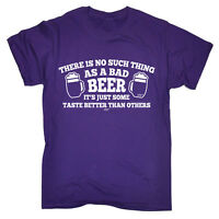 Funny T Shirt - No Such Thing Bad Beer - Birthday Joke tee Gift Novelty T-SHIRT