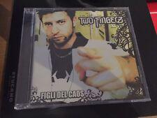 Two Fingerz CD Figli del Caos Dargen D'Amico RARO PRIMO CD SIGILLATO 2007