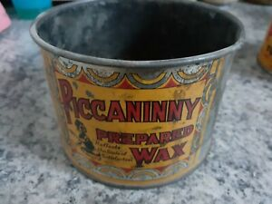 Early Version Piccaninny 1 paid prepared wax tin