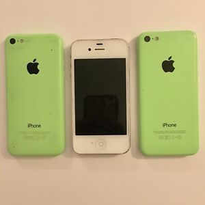 Apple iPhone Lot of 3 - Parts Only - iPhone 5c iPhone 4s