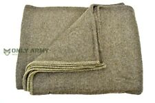 Belgian Army 100% Wool Blanket Heavy Wool Military Bedding Large