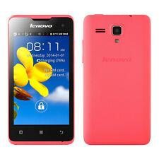 "Lenovo A396 4.0"" Android 2.3 SmartPhone Dual Sim Quad Core WIFI 3G WCDMA Pink"