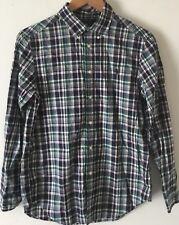 Polo Ralph Lauren Boys Youth Long Sleeves Multicolored Plaid Shirt  L (14-16)