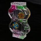 Mix Illusion Liquid Motion S Shape Floating Slim Oil Hourglass Gadget Toy