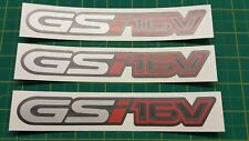 Vauxhall Astra Nova Corsa B Cavalier GSI 16v decals stickers Opel red top valve
