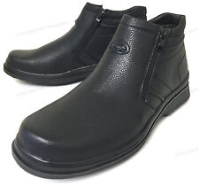 Brand New Men's Winter Boots Fur Lined Both Side Zipper Warm Ankle Snow Shoes