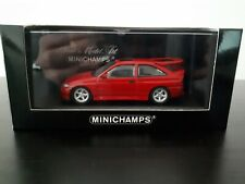 MINICHAMPS Ford Escort RS Cosworth rot OVP 1/43