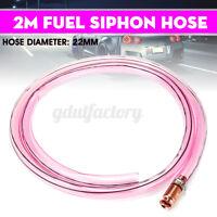 22mm x 2m PVC Fuel Siphon Hose Copper Jiggler Jiggle Siphon Pump Water Pipe  *