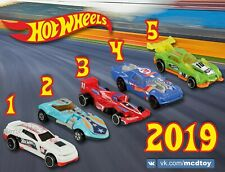 McDonald's Russia Toy Happy Meal 2019 Hot Wheels