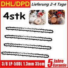 4X Sägekette 35cm 50TG 3/8 P 1,3 mm für Stihl MS180 210 230 250 021 023 025