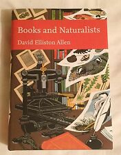 Books and Naturalists Collins New Naturalist Library 112 First Edition in d/j