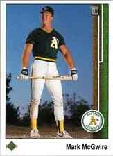 1989 Upper Deck Mark McGuire #300 Oakland City A's S243