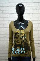 Maglia Donna LEE Taglia S Maglietta Blusa Camicia Manica Lunga Shirt Women's