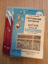 Tottenham Hotspur FA Cup Home Teams S-Z Football Programmes