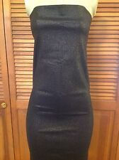 BRAND NEW GUCCI BLACK STRAPLESS DRESS SIZE US 6 KNEE LENGTH