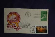 National Parks Everglades Stamps Dual FDC Staehle Sc#5080l,952 10783 1947 & 2016