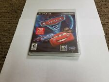 Cars 2: The Video Game (Sony PlayStation 3, 2011) new ps3