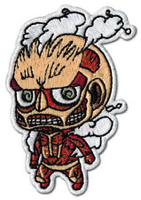 "Attack on Titan Titan SD Patch 3"" x 2"" Licensed by GE Animation 44795 Free Ship"