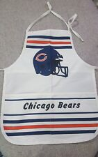 VINTAGE NFL FOOTBALL Chicago Bears Team Sport Apron TIME OUT Drop down bib NOS