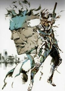 METAL GEAR SOLID SNAKE VIDEO GAME NEW ART Print Poster Wall Picture A4 +